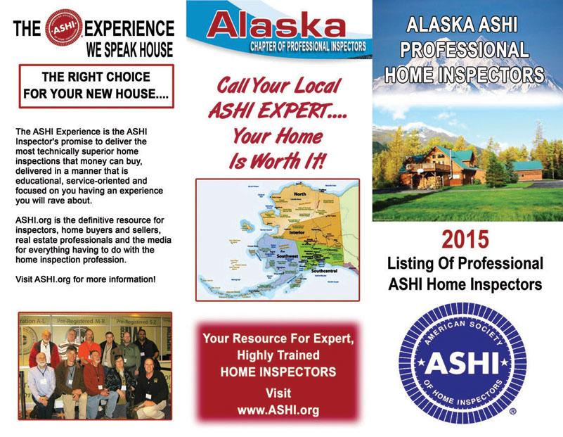 Brochure Alaska Professional Home Inspectors
