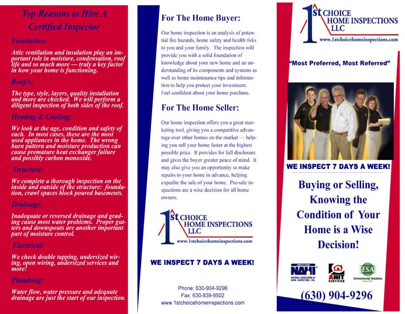 Choice Home Inspections Cover