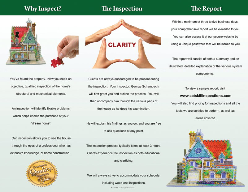 Home Inspection Services Sample Cover