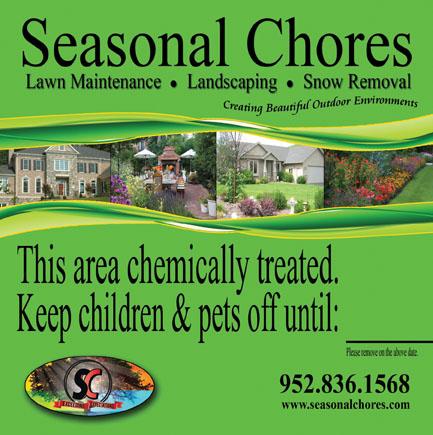 Landscape Yard Sign Design