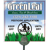 Lawn Posting Signs Product